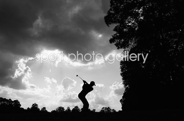 Tiger Woods TOUR Championship Silhouette East Lake 2018