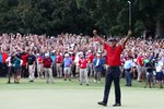 Tiger Woods USA wins Tour Championship East Lake 2018 Frames