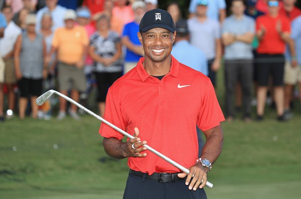 Tiger Woods USA Tour Championship Winner 2018
