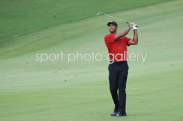 Tiger Woods United States Final Round Tour Championship 2018
