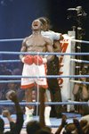 Chris Eubank beats Nigel Benn Birmingham 1990 Prints