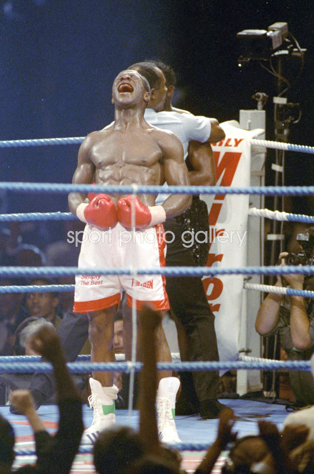 Chris Eubank beats Nigel Benn Birmingham 1990