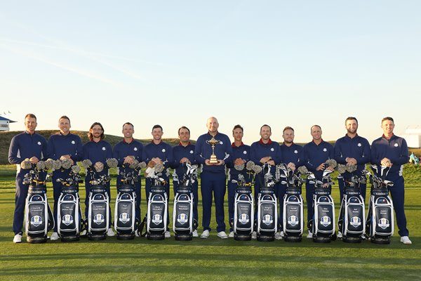 European Team Ryder Cup Paris France 2018