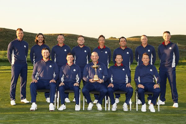 2018 Ryder Cup European Team Paris France
