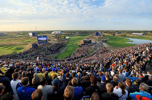 Rory McIlroy Europe 1st Tee Day 1 2018 Ryder Cup