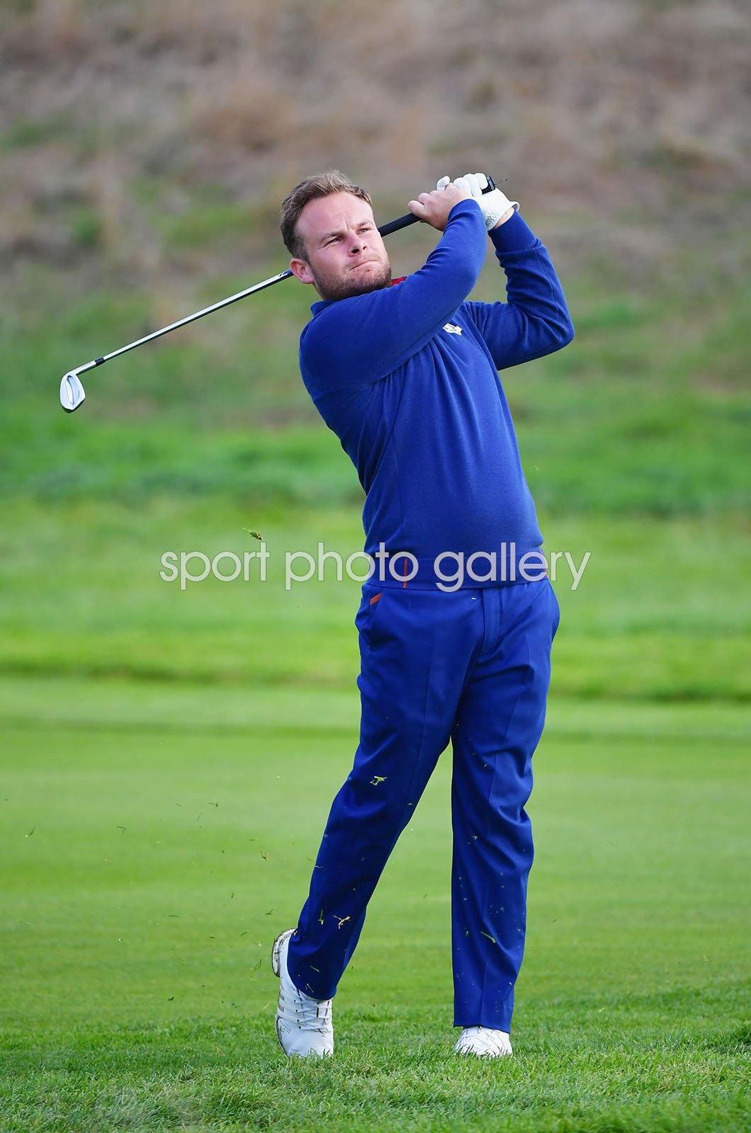 Tyrrell Hatton Europe Day 1 Fourballs Ryder Cup Paris 2018