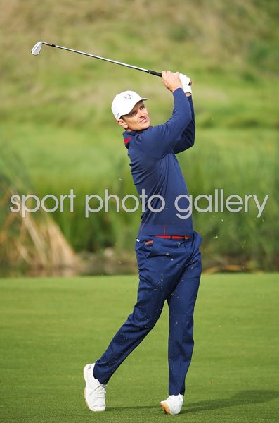 Justin Rose Europe Day 1 Fourballs 2018 Ryder Cup