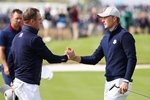 Jordan Spieth & Justin Thomas USA Day 1 2018 Ryder Cup   Canvas
