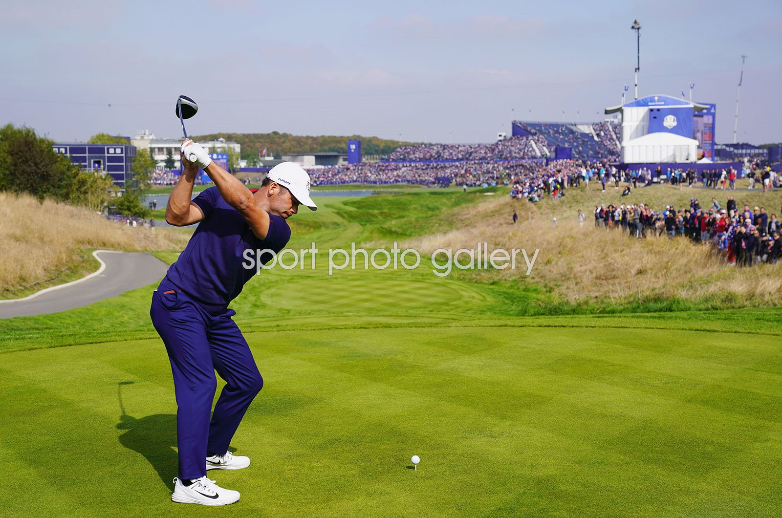Paul Casey Europe Day 1 Fourballs 2018 Ryder Cup