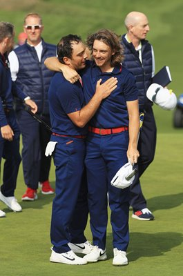 Tommy Fleetwood & Francesco Molinari Europe 2018 Ryder Cup