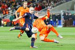 2010 World Cup Final - Iniesta scores for Spain  Prints