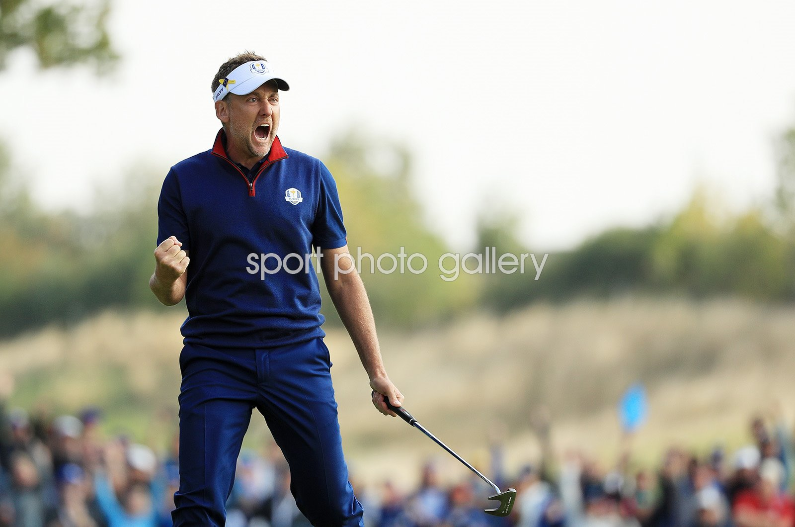 Ian Poulter Europe Day 1 Foursomes Ryder Cup Paris 2018