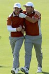 Tommy Fleetwood & Francesco Molinari Europe Day 2 Ryder Cup 2018 Prints