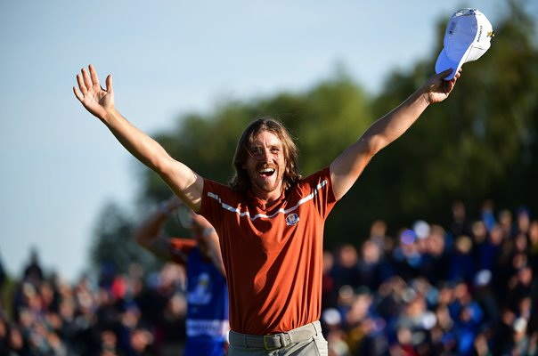 Tommy Fleetwood Europe wins Foursomes Day 2 Ryder Cup 2018