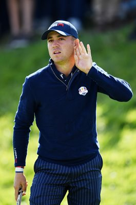 Justin Thomas USA Fourballs Day 2 2018 Ryder Cup