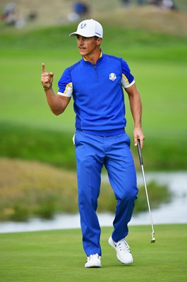 Thorbjorn Olesen Europe Day 3 Ryder Cup 2018