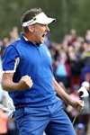 Ian Poulter Europe beats Dustin Johnson Ryder Cup 2018 Prints
