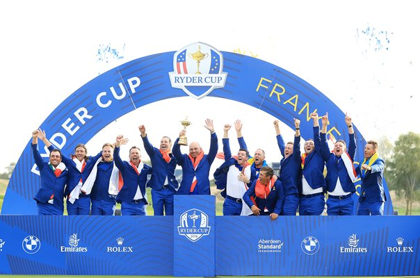 Europe win 2018 Ryder Cup Le Golf National Paris