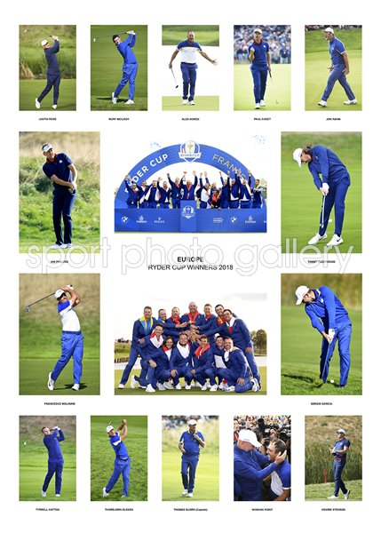 2018 European Ryder Cup Team Special