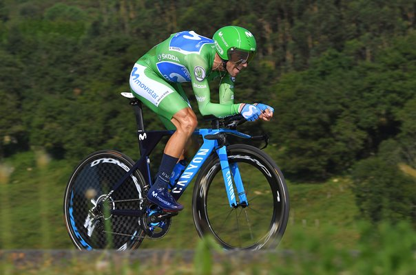 Alejandro Valverde Time Trial Tour of Spain 2018