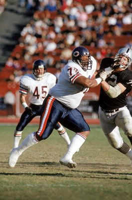 William Perry Chicago Bears v Los Angeles Raiders 1987