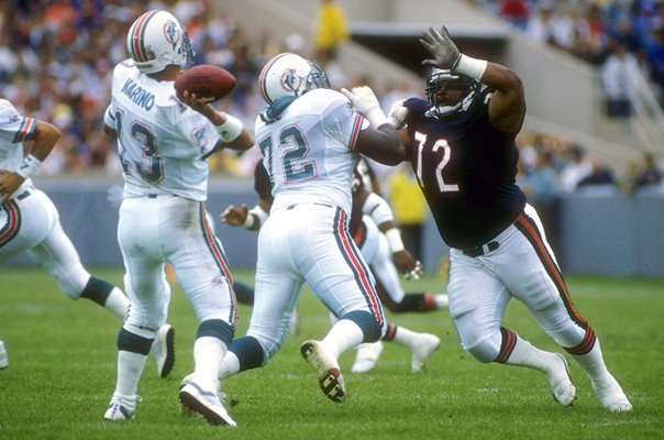 William Perry Chicago Bears v Miami Soldier Field 1992