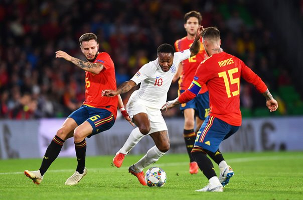 Raheem Sterling England v Spain Nations League 2018