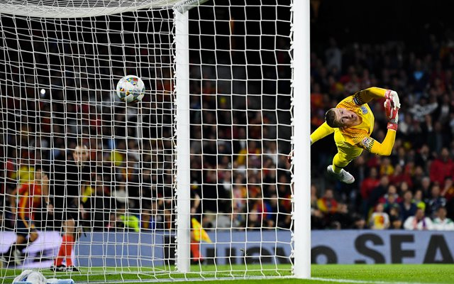 Jordan Pickford England v Spain Nations League 2018