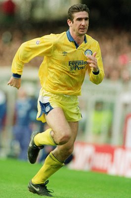 Eric Cantona Leeds United v Arsenal March 1992