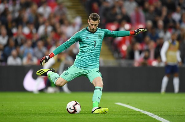 David de Gea Spain v England Wembley Nations League 2018