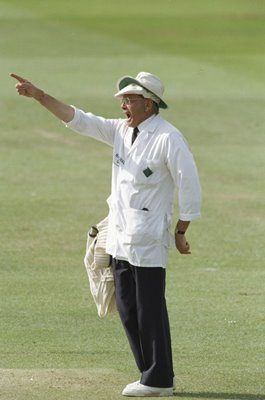 Umpire Dickie Bird final decision England v India Lords 1996