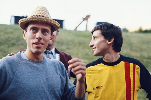 Steve Ovett & Sebastian Coe Great Britain Middle Distance Legends 1984