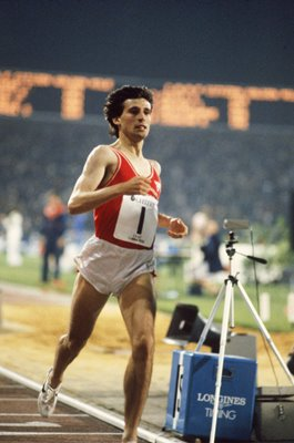 Sebastian Coe World Record Golden Mile Brussels 1981