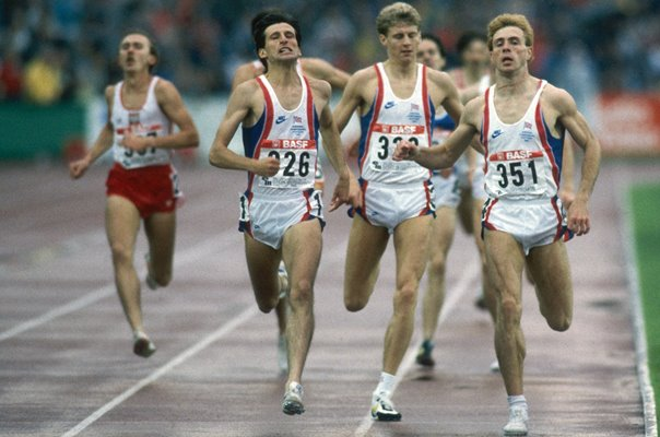 Sebastian Coe, Tom McKean & Steve Cram European Athletics 1986
