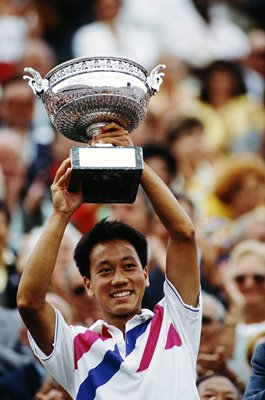 Michael Chang USA French Open Tennis Champion 1989