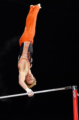 Epke Zonderland Netherlands High Bar Gymnastics Worlds 2017
