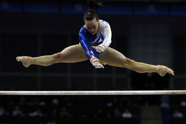 Beth Tweddle Great Britain Gymnastics World Championships 2009