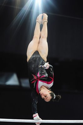 Beth Tweddle Great Britain Gymnastics World Championships 2010