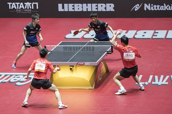 China v Japan Doubles Table Tennis World Championship 2017