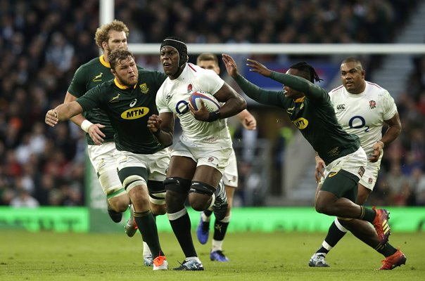 Maro Itoje England v South Africa Twickenham 2018