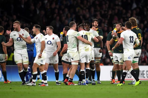England beat v South Africa Autumn International Twickenham 2018