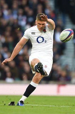 Owen Farrell England kicker v South Africa Twickenham 2018