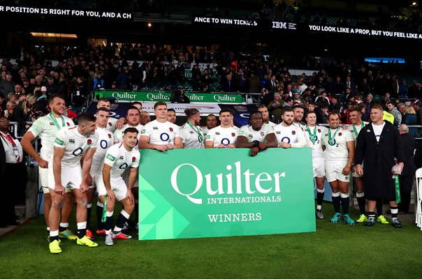 England beat South Africa Autumn International Twickenham 2018