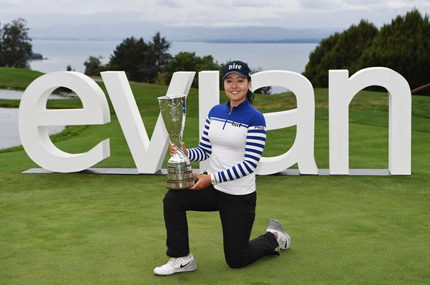 In-Gee Chun South Korea Evian Champion France 2018