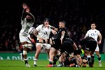 Courtney Lawes England v TJ Perenara New Zealand Twickenham 2018 Prints