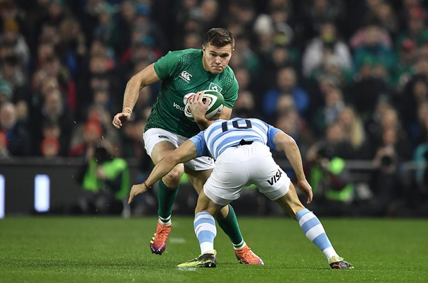 Jacob Stockdale Ireland v Argentina International Dublin 2018