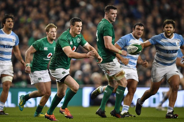 Jonathan Sexton Ireland v Argentina Dublin International 2018