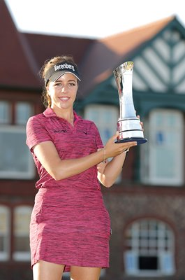 Georgia Hall England Women's British Open Champion 2018