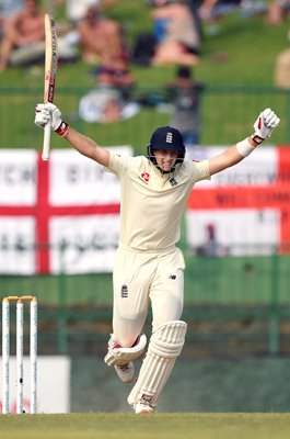 Joe Root England Century v Sri Lanka Kandy 2018