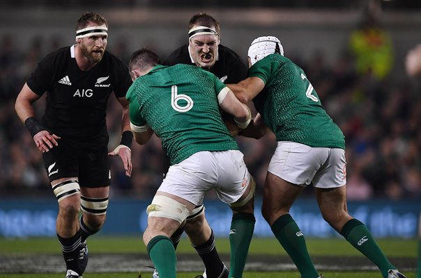Brodie Retallick New Zealand All Blacks v Ireland Dublin 2018